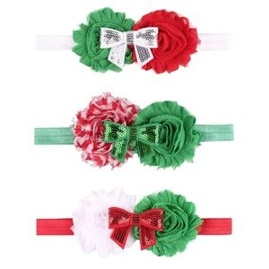 Other - Holiday Headband/Bows.  NEW